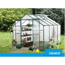 10ft X 10ft The Ultimate Greenhouse 6mm Twin Wall