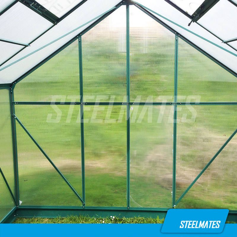10ft X 20ft The Ultimate Greenhouse 6mm Twin Wall