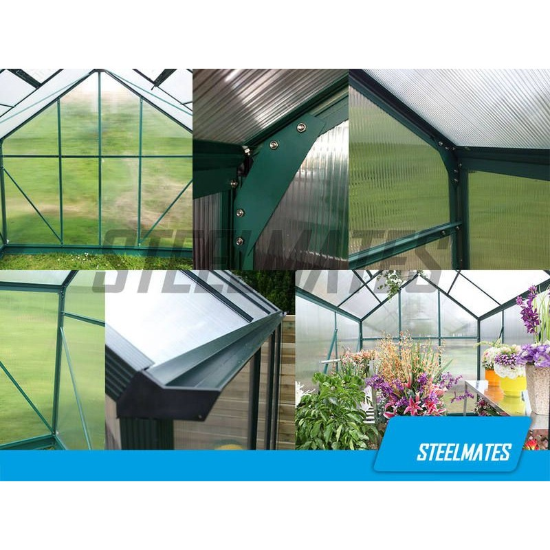 10ft X 8ft The Ultimate Greenhouse 6mm Twin Wall