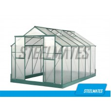 12ft X 8ft The Ultimate Greenhouse 6mm Twin Wall