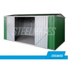 4.3m x 2.6m Garden Shed The Ranch(New Design 2000mm Tall Side Wall) | Steelmates