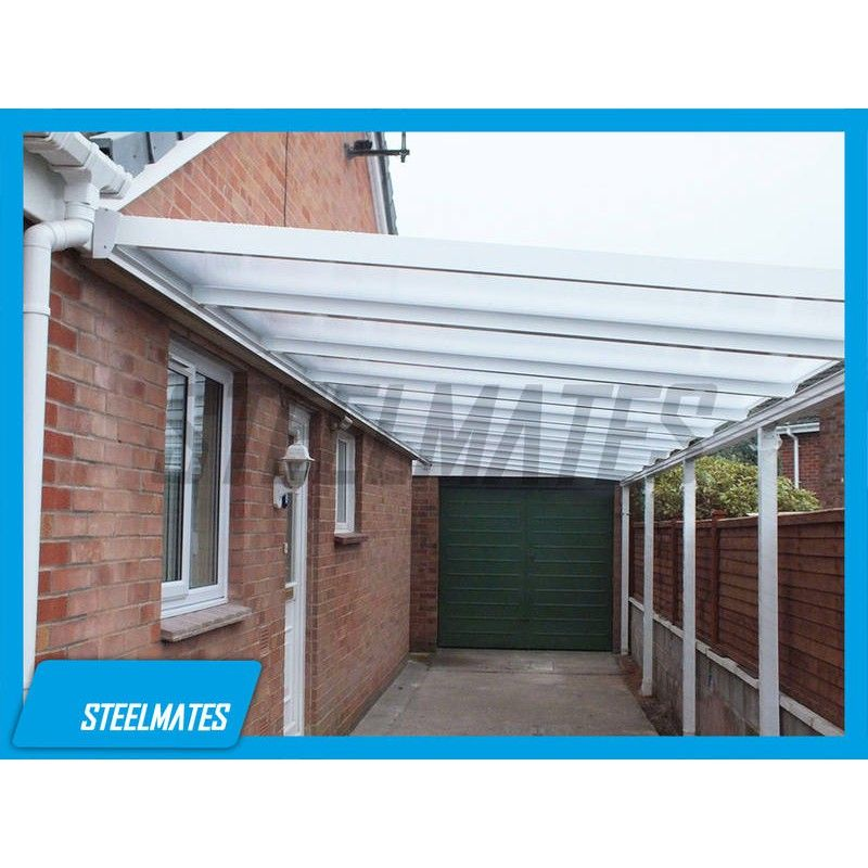 12x8 Aluminium Canopy Patio Cover Carport Lean To Pergola
