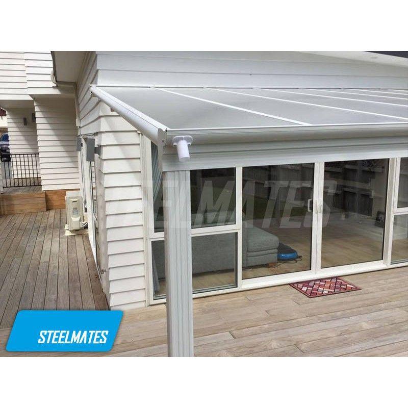 Covered Pergola Designs Nz: 20x10 Aluminium Canopy, Patio Cover, Carport, Lean To Pergola