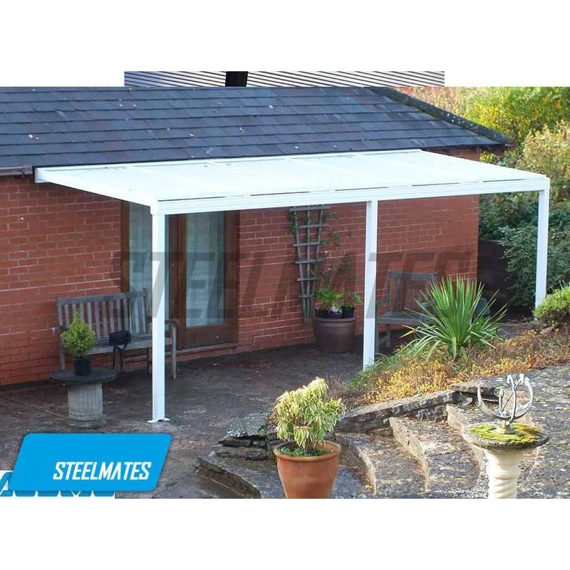 Brilliant 20X10 Aluminium Canopy Patio Cover Carport Lean To Pergola Download Free Architecture Designs Scobabritishbridgeorg